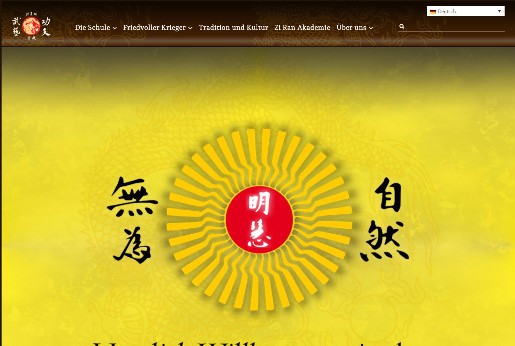 Zi Ran Kung Fu Schule - Die Natürliche Kampfkunst